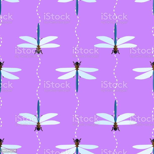 Vector seamless pattern with dragonflies and wavy lines vector id990940206?b=1&k=6&m=990940206&s=612x612&h=55gfojh4ma6xw6ot 4pxbsxmocnleefxjcr00cidtyg=