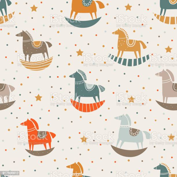 Vector seamless pattern with funny wood horse and stars in pastel vector id917505612?b=1&k=6&m=917505612&s=612x612&h=l2ntsd2q1ytz 7sqhqmu5t vcoyddshpu xw6hqza4y=