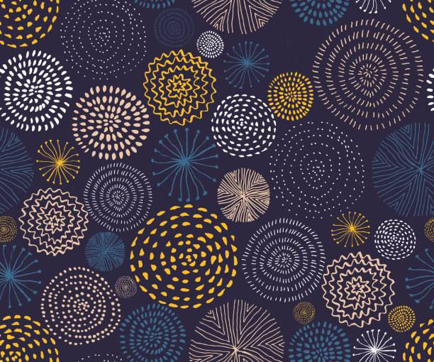 Seamless pattern stock illustrations