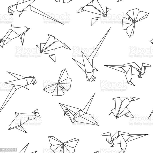 Vector seamless pattern with origami animals abstract creative vector id913001048?b=1&k=6&m=913001048&s=612x612&h=nvfcoiirpgnbpvgk3i59ptsicanlzfbl7xth1tvtkuk=