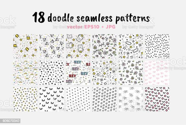 Vector seamless patterns collection backdrop for boys girls textiles vector id926070342?b=1&k=6&m=926070342&s=612x612&h=p83o41wv 0it 1x wbn0j8v4nyzwtowndkc9jmrkfqg=