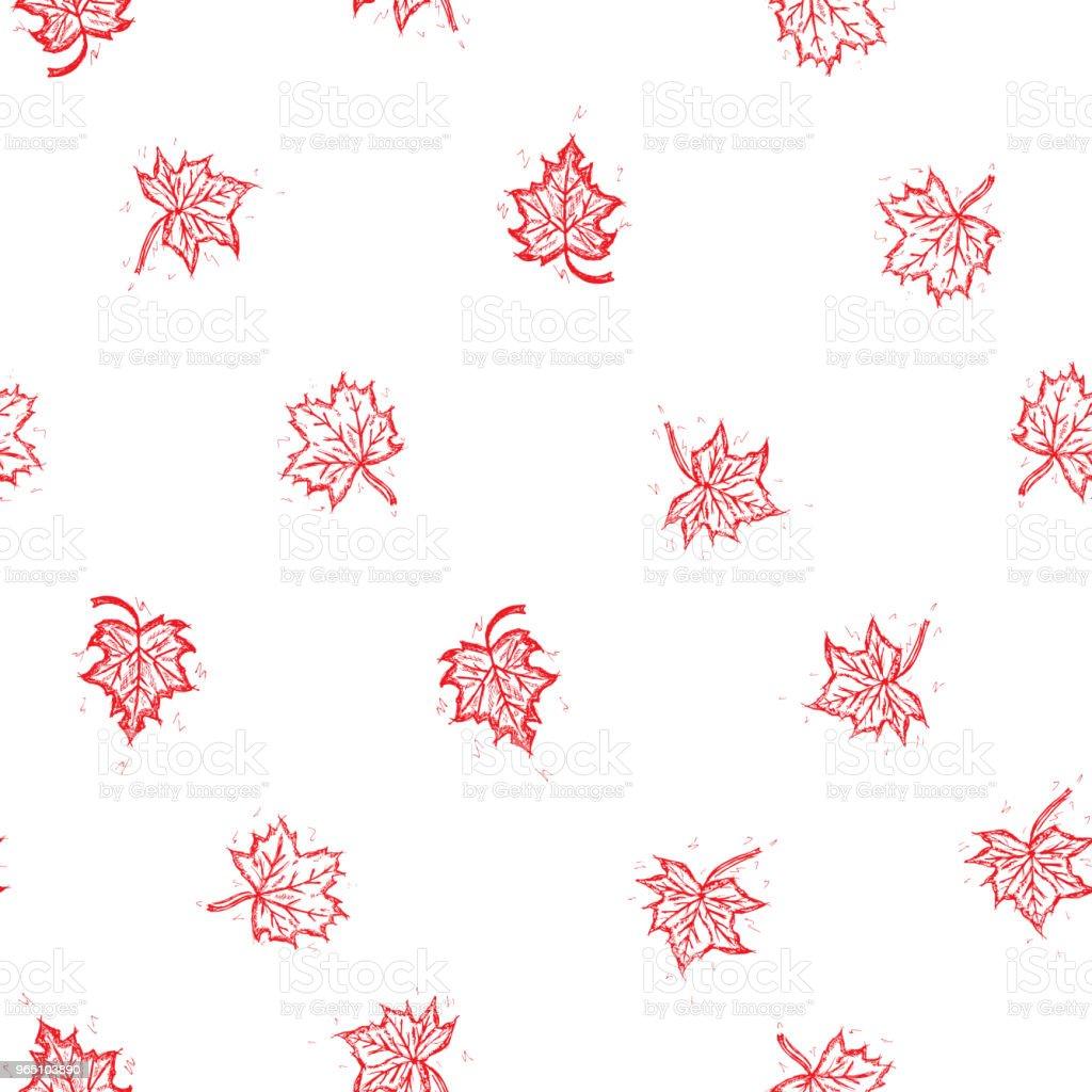 Vector seamless retro pattern, on the autumn theme. Can be used for web page background, pattern fills, wallpaper, surface textures vector seamless retro pattern on the autumn theme can be used for web page background pattern fills wallpaper surface textures - stockowe grafiki wektorowe i więcej obrazów bez ludzi royalty-free
