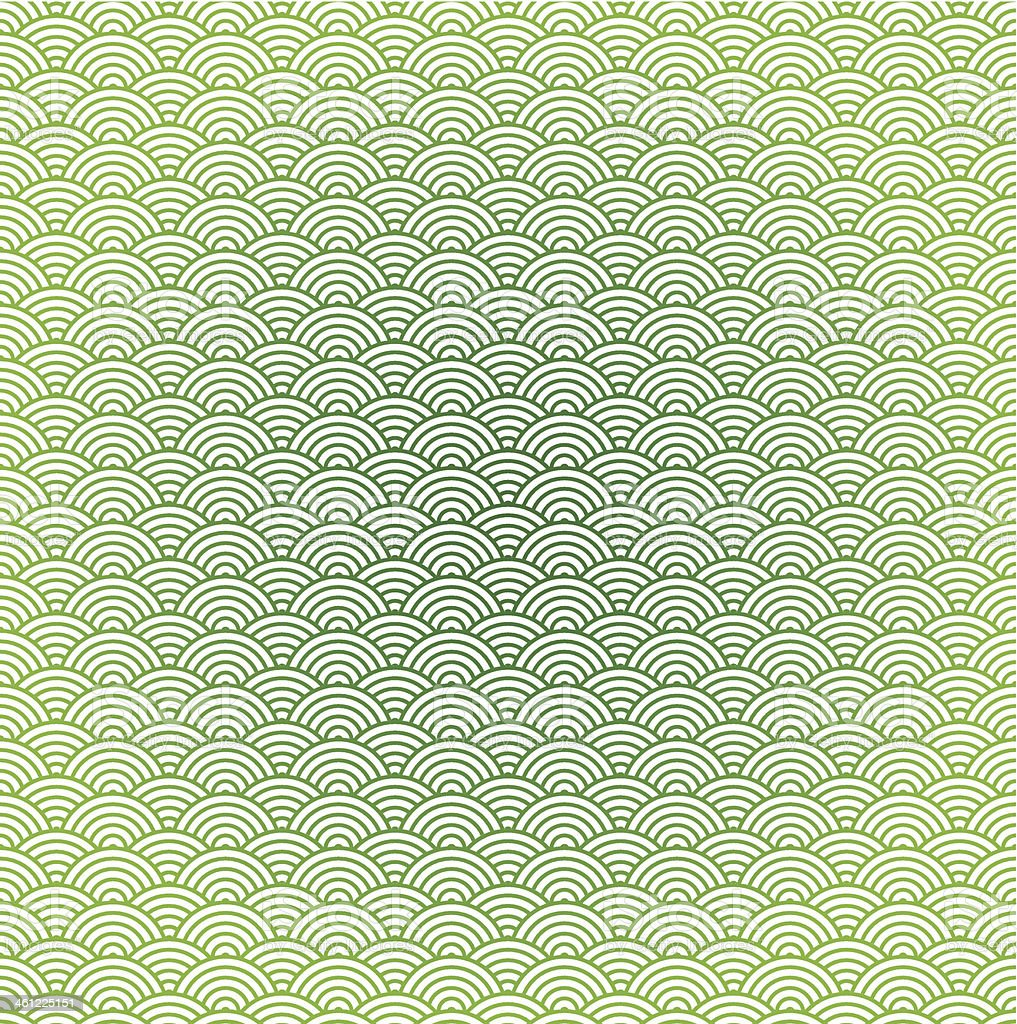 Vector seamless sea wave background royalty-free stock vector art