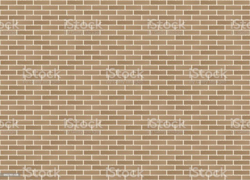 Vector Seamless Stretcher Dark Bond Sandstone Brick Wall