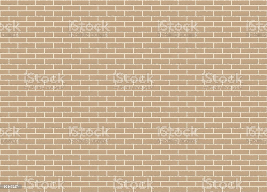 Brick Vector Picture Brick Veneers: Vector Seamless Stretcher Light Bond Sandstone Brick Wall