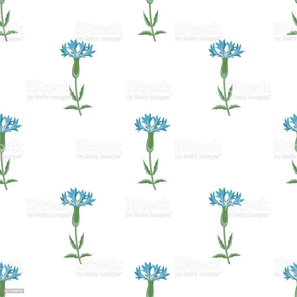 vector seamless stylized orient cornflower pattern in minimalistic style vector seamless stylized orient cornflower pattern in minimalistic style - immagini vettoriali stock e altre immagini di affari finanza e industria royalty-free