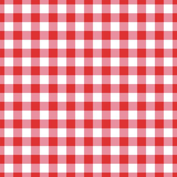 Vector seamless table cloth texture Vector seamless table cloth texture picnic stock illustrations