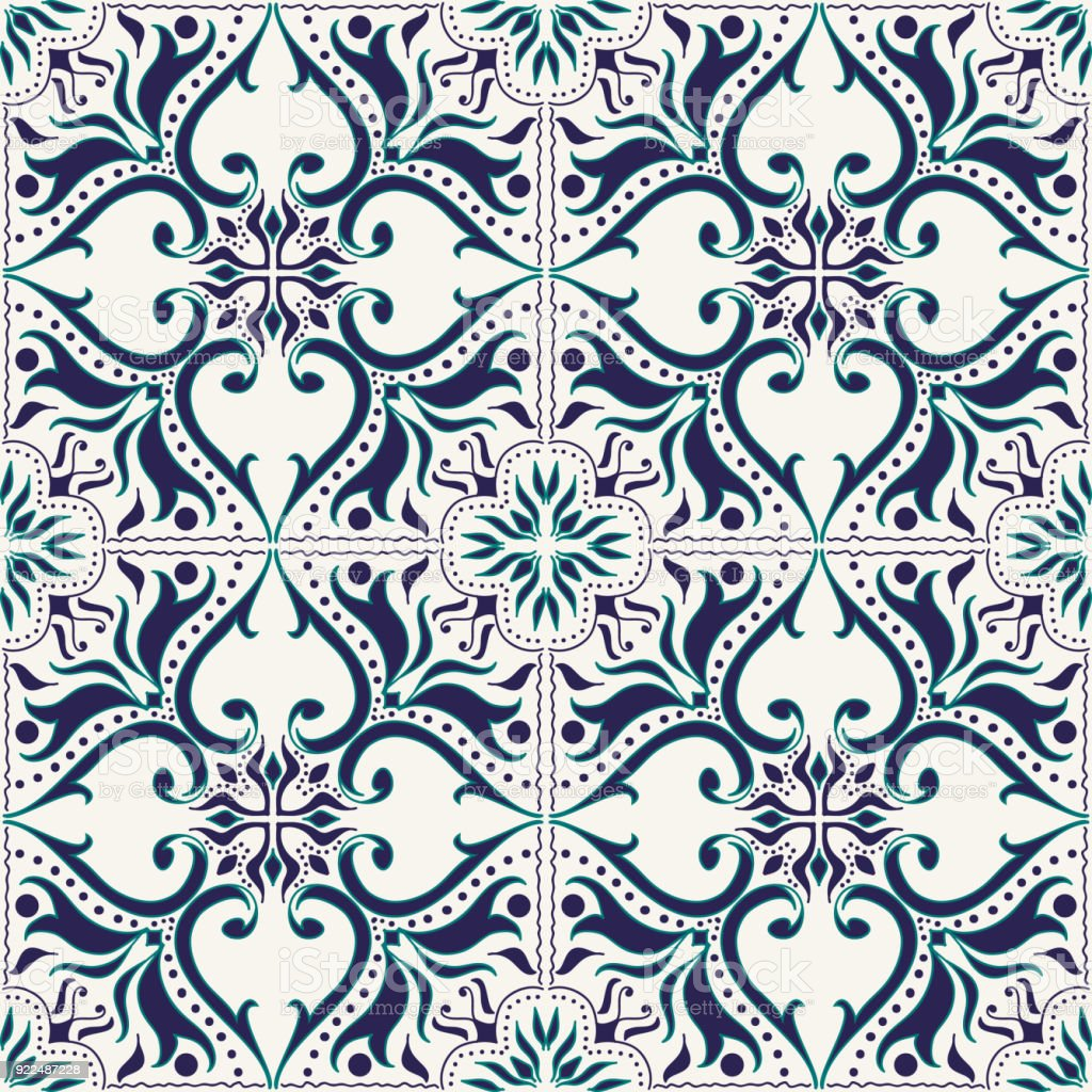 Vector Seamless Texture Beautiful Colored Pattern For Design And Fashion With Decorative Elements Stock Illustration Download Image Now Istock