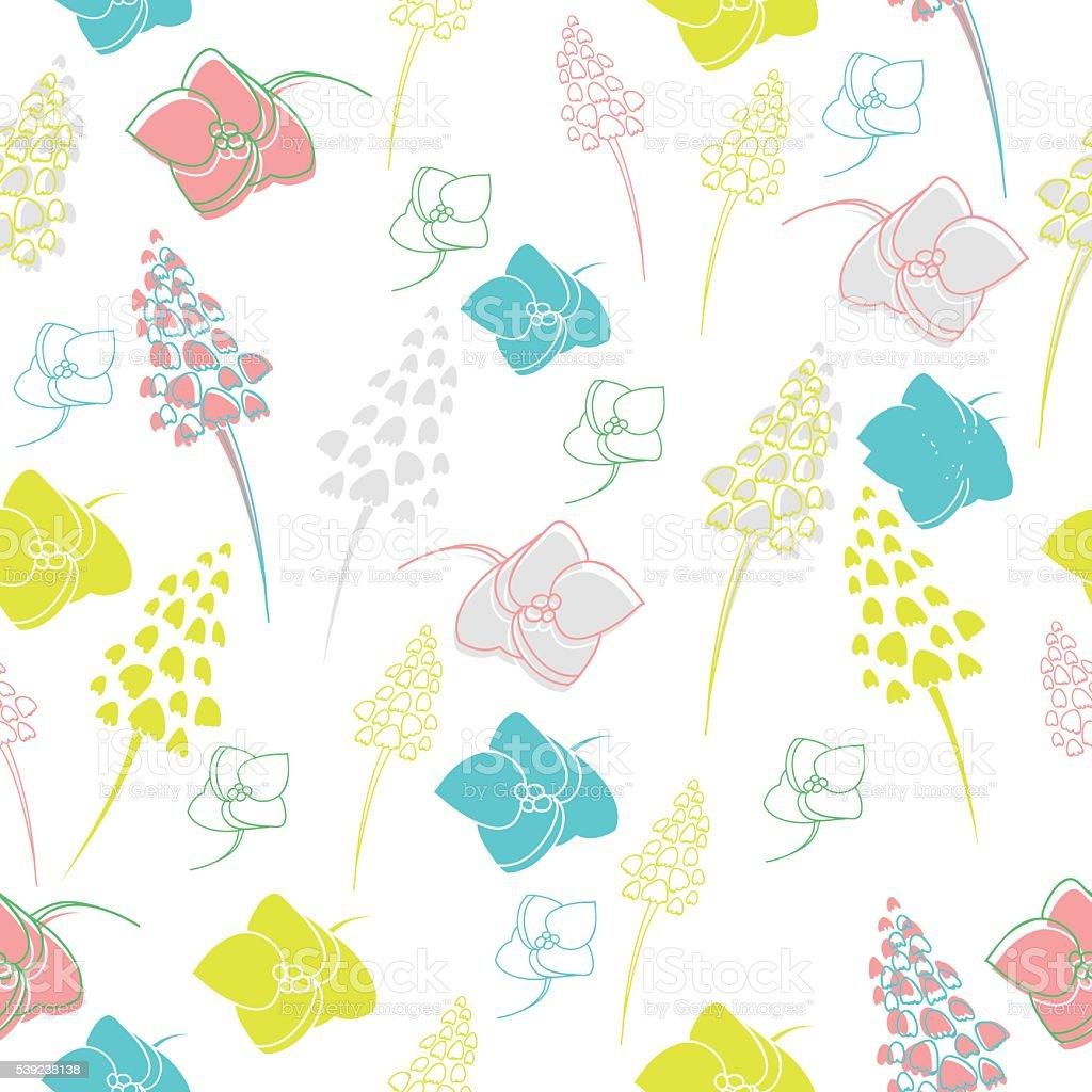Vector transparente pattern Tropical ilustración de vector transparente pattern tropical y más banco de imágenes de abstracto libre de derechos