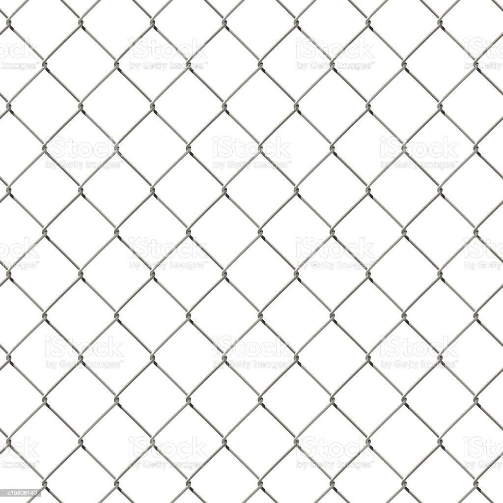 Vector Seamless Wire Mesh Fence Stock Vector Art & More Images of ...