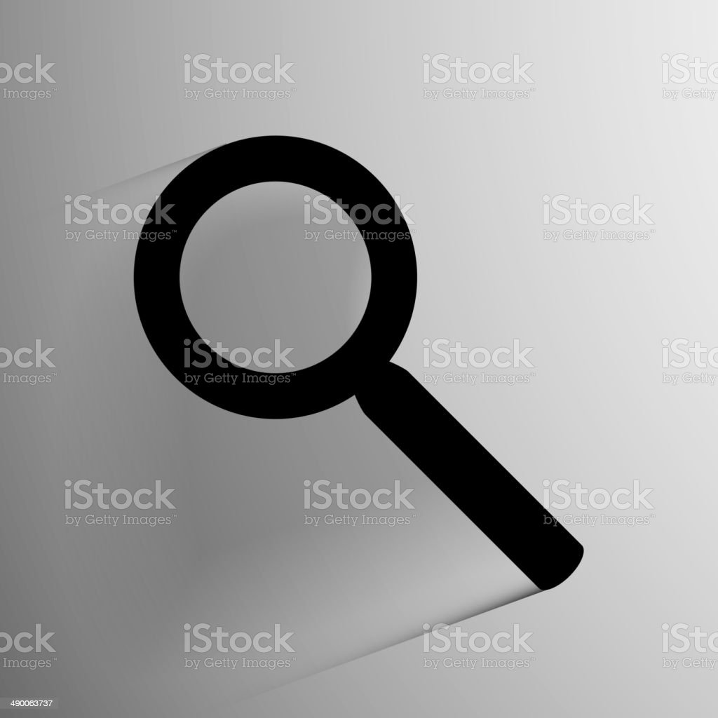Vector search icon background. royalty-free stock vector art