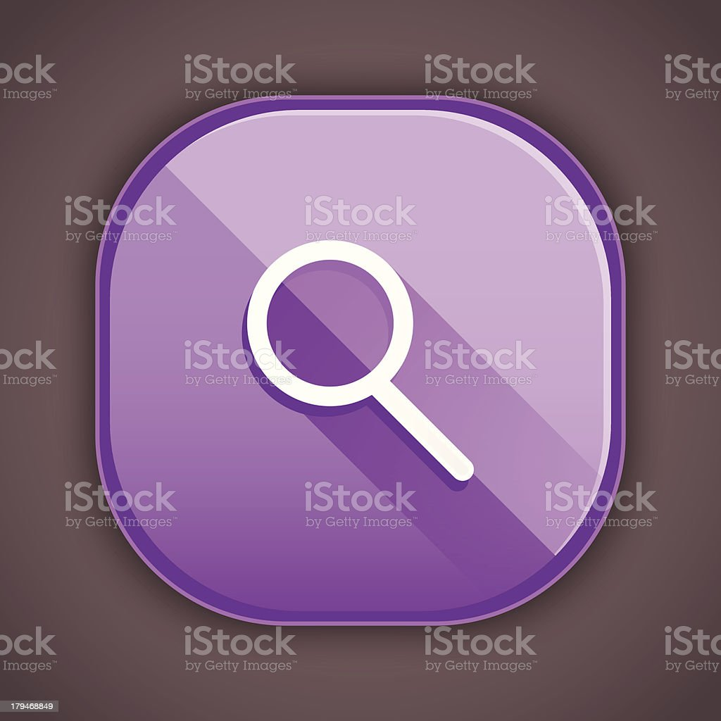 Vector Search Icon royalty-free stock vector art