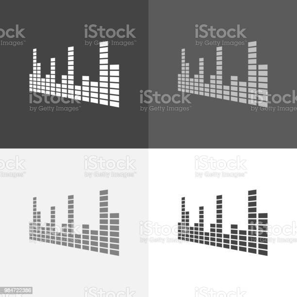 Vector set icon of musical equalizer a musical sound wave vector on vector id984722386?b=1&k=6&m=984722386&s=612x612&h=r wejxv8ipo hb6qc3ibavfawd0kd9y1id4iytjjhwu=