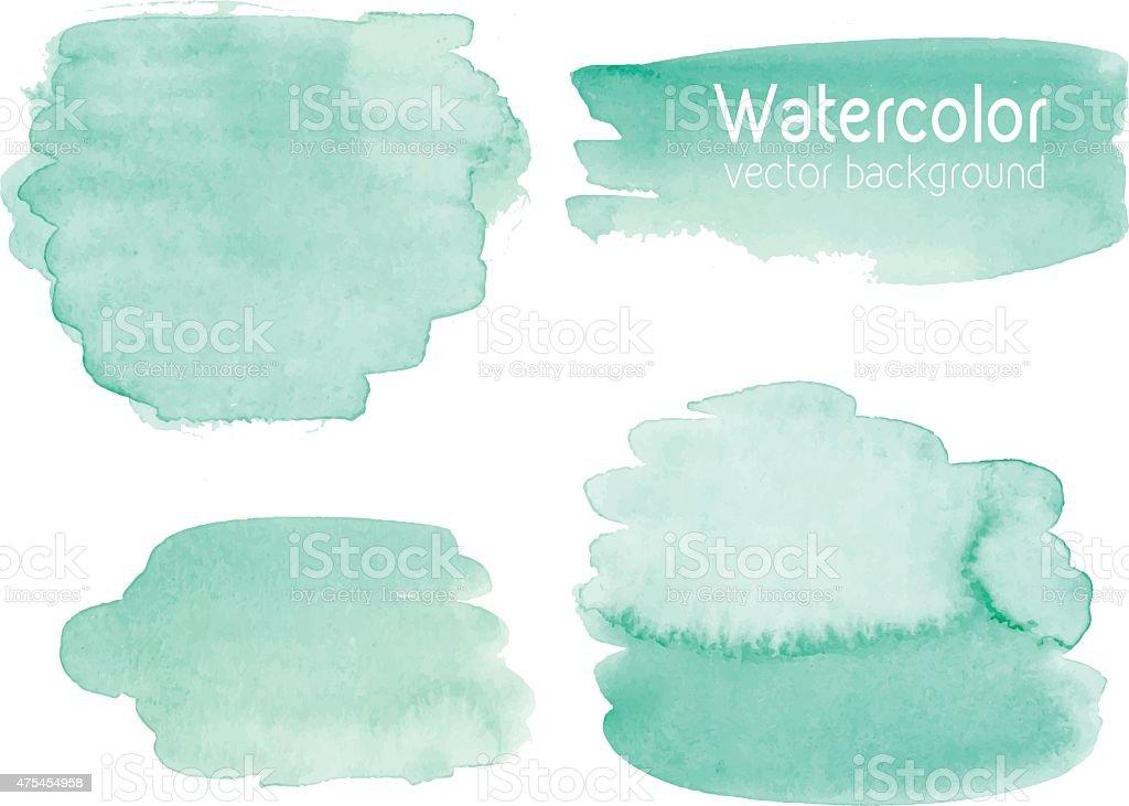 Vecteur série de papier abstrait aquarelle fond avec texture. - Illustration vectorielle