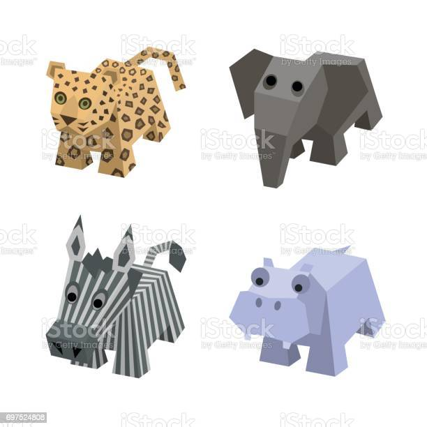 Vector set of african isometric animals vector id697524808?b=1&k=6&m=697524808&s=612x612&h=4ybn8d6q rjxcrdwgsnneoam1fu2vrbq0rcbppxkr g=