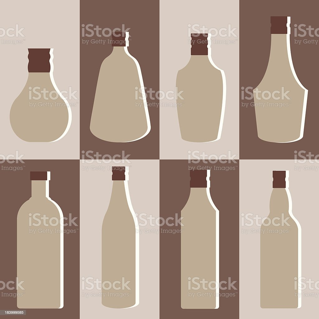 Vector set of alcohol bottle royalty-free vector set of alcohol bottle stock vector art & more images of alcohol