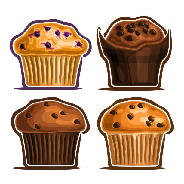 438 Mini Muffins Illustrations Clip Art Istock