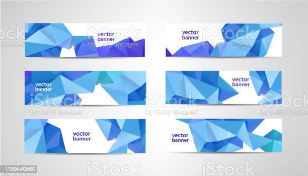 Vector set of banners with polygonal geometric background facet low vector id1159440560?b=1&k=6&m=1159440560&s=612x612&h=3jqvs2civicvtvoni g6p8xu2ixu1q61sipwyifqp2k=