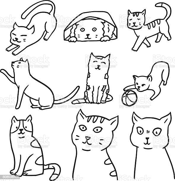 Vector set of cat vector id508538520?b=1&k=6&m=508538520&s=612x612&h=gapxbflf9mwye9fqkxgynmkjir crgtpg6gtyr8x na=