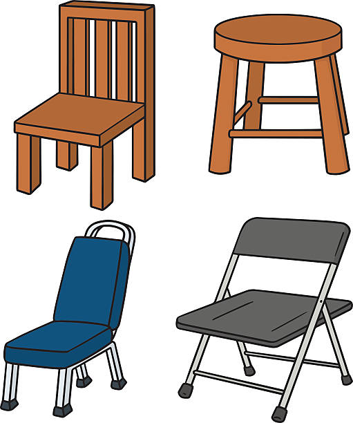 Best Folding Chair Illustrations, Royalty-Free Vector ...
