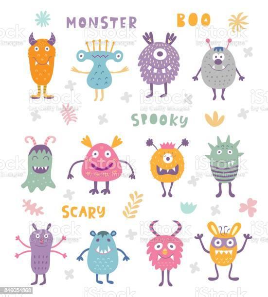 Vector set of cute scary halloween monsters vector id846054868?b=1&k=6&m=846054868&s=612x612&h=azrbgkmbtciwfano8iihad h zhafnfwgovdxtxflui=