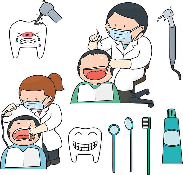 Royalty Free Female Dentist Mask Clip Art, Vector Images ...