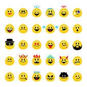 Vector set of emoji