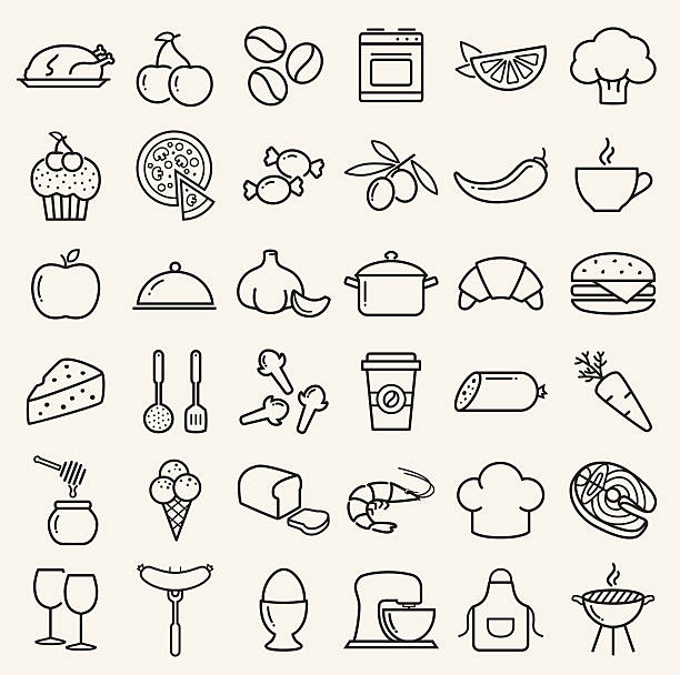 Royalty free serving dish clip art vector images for Art cuisine evolution 10 piece cooking set