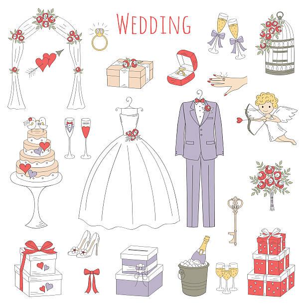 結婚式 イラスト素材 Istock