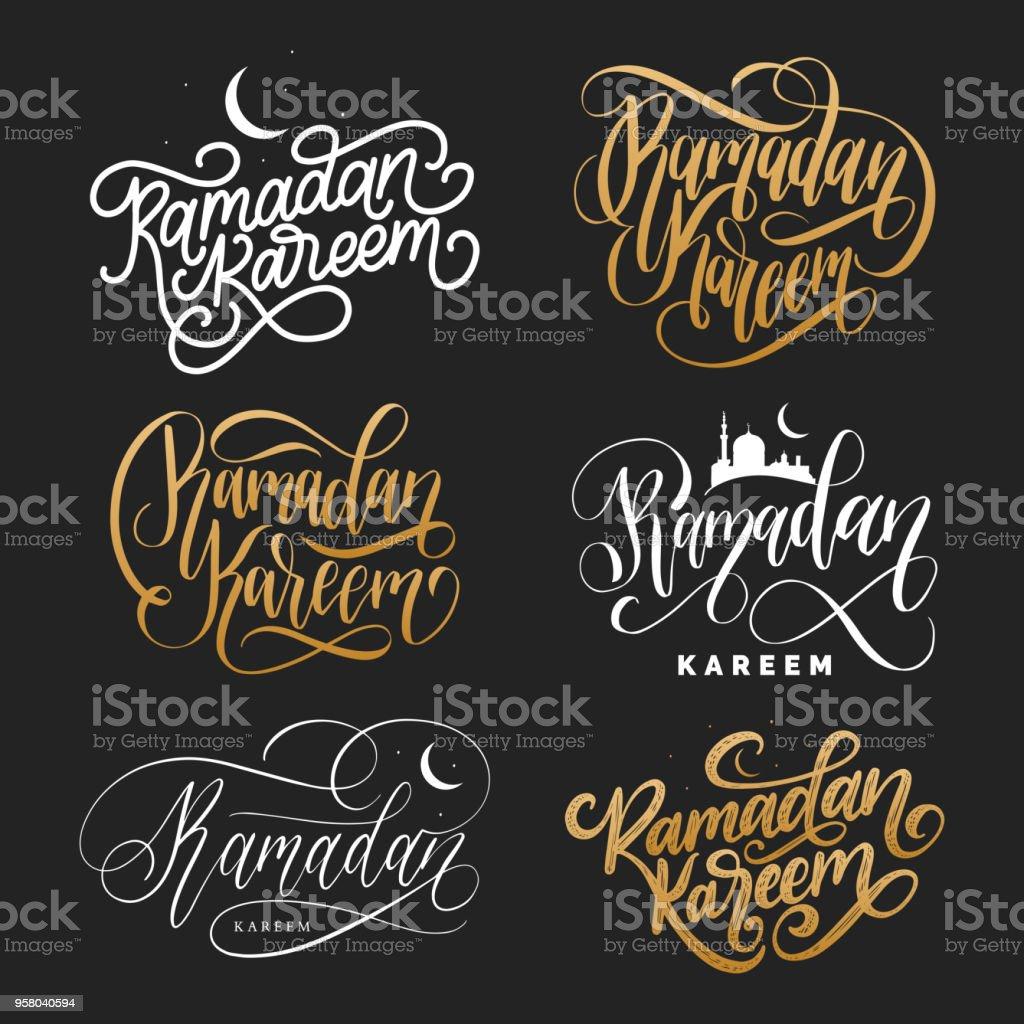 Beautiful Islam Eid Al-Fitr Feast - vector-set-of-handwritten-phrases-ramadan-kareem-and-eid-alfitr-in-vector-id958040594  Collection_966056 .com/vectors/vector-set-of-handwritten-phrases-ramadan-kareem-and-eid-alfitr-in-vector-id958040594