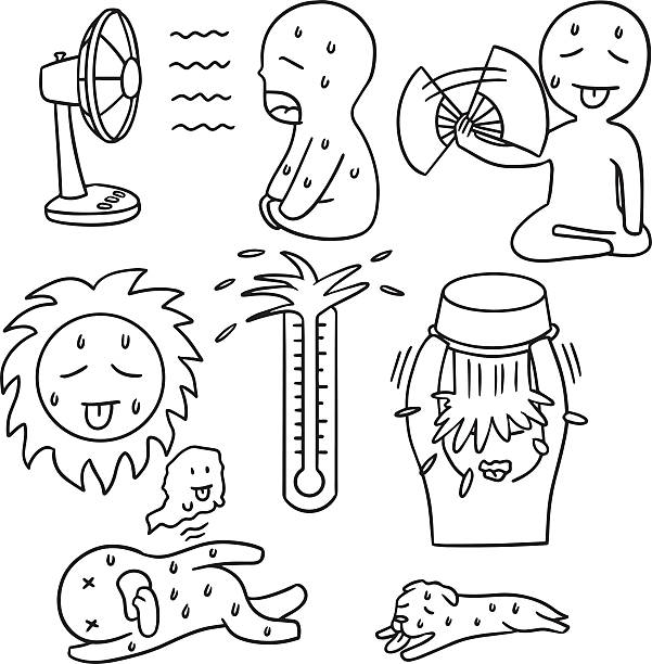 Royalty Free Heat Wave Clip Art, Vector Images