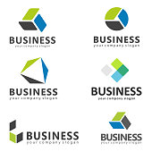Vector set of icons design. Vector design element for business