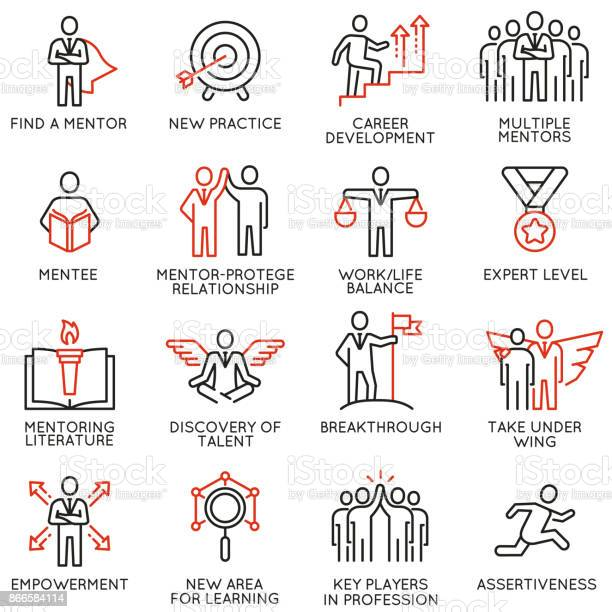Vector set of icons related to business training consulting service vector id866584114?b=1&k=6&m=866584114&s=612x612&h=tirqq2 v8wzfweod1jy3tgilvctggm2q ob zc8cdeg=