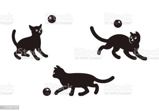 Vector set of illustration of cute black cats in various poses on vector id1125367282?b=1&k=6&m=1125367282&s=612x612&h=c6sys6j m d7gnfas5bfueiqnxrbq5pubmfyxijlvns=
