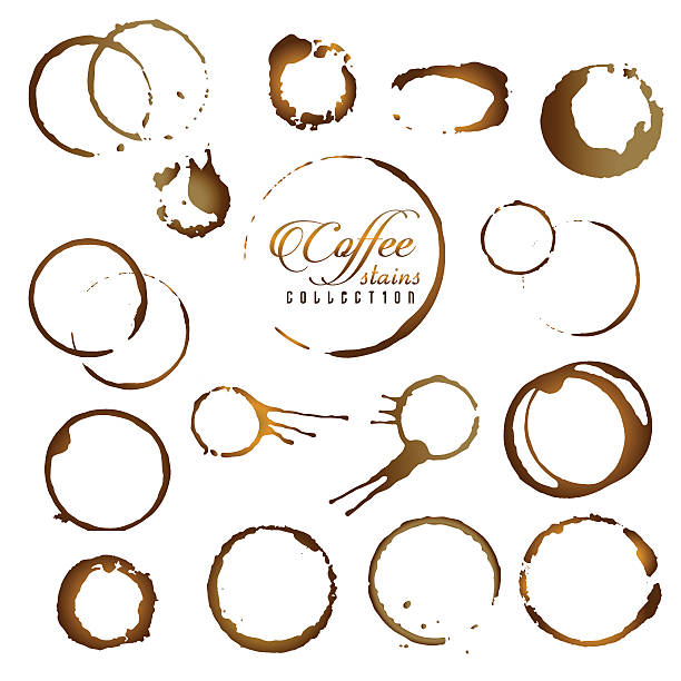 Royalty Free Coffee Stain Clip Art, Vector Images ...