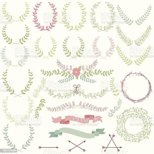 Vector set of laurels banners and floral elements vector id183704968?b=1&k=6&m=183704968&s=612x612&h=vw7jfutzhcf1b722t8a d4l efiyogv7y3bcikhabny=