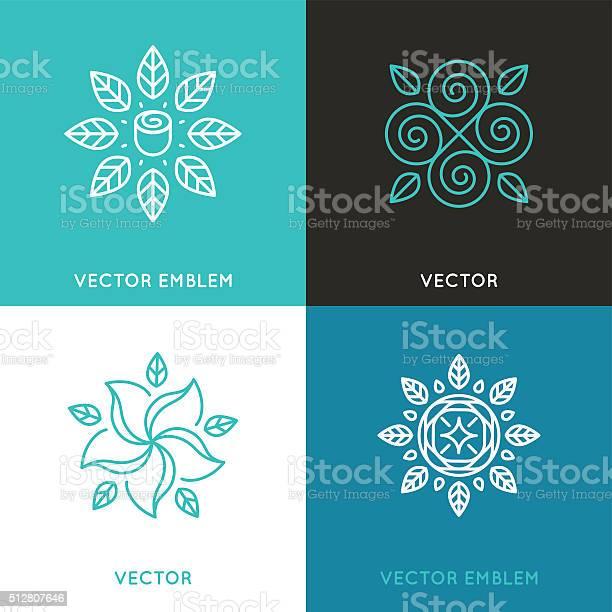 Vector set of logo design templates in trendy linear style vector id512807646?b=1&k=6&m=512807646&s=612x612&h=kqczne1qeoso8s5rrqrm8cj7qbksjupqclo7o3r7i7i=