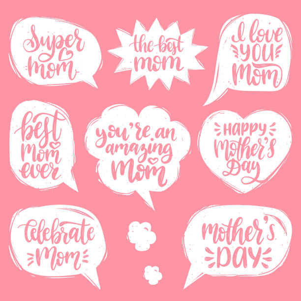 Best Happy Mother Day Quotes Illustrations Royalty Free