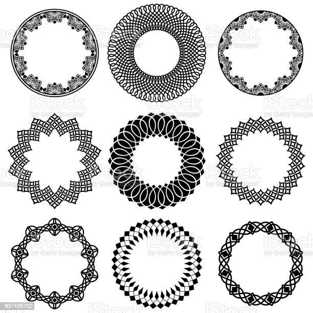 Vector set of oriental round wide frames vector id937495702?b=1&k=6&m=937495702&s=612x612&h=4jd0y6qelgxw4hzleyjr ywzzlnvx oui 719gw6upa=