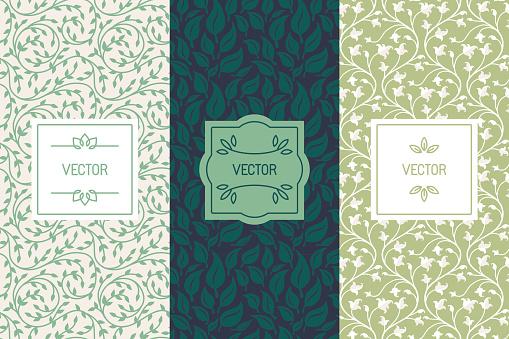Vector Set Of Packaging Design Templates For Cosmetics Beauty P - Immagini vettoriali stock e altre immagini di Abilità