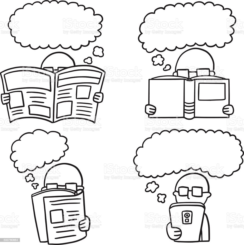 vector set of reader
