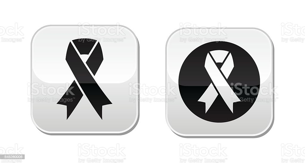 Vector Set Of Ribbons Symbols For Breast Cancer Awareness Stock