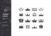 Vector Set of Royal Symbols and Signs