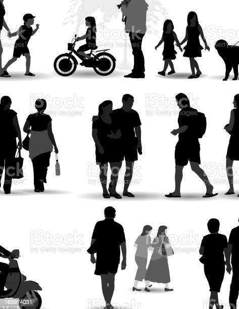 Vector set of silhouetted people on the move vector id165974031?b=1&k=6&m=165974031&s=612x612&h= 3 fhhcgpmlpe6xbwlpu59kbs6 4ljcuoor0ii90 su=