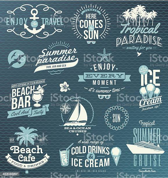 Vector set of travel vacation emblems and symbols vector id453046891?b=1&k=6&m=453046891&s=612x612&h=mhis82vtqtyxte2h2ufe97j4utxeo3f4cjyhoac1o3w=