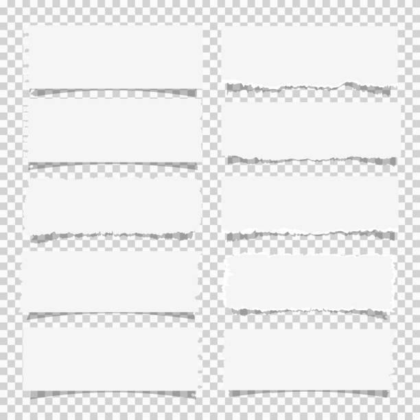 各種白紙條的向量集, 設計項目 - 報紙頭條 幅插畫檔、美工圖案、卡通及圖標