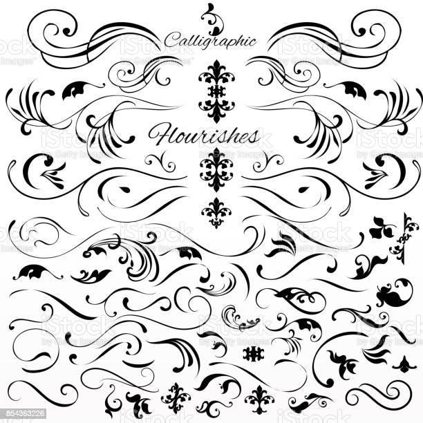 Vector set of vintage styled calligraphic elements or flourishes vector id854363226?b=1&k=6&m=854363226&s=612x612&h=zypk2rxbkns5u9nlm16h7 xakjr9qakh3fbziw50tr0=