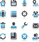 Vector set of Web icons