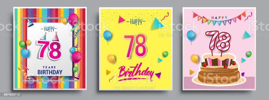 Ilustración de Invitación Juegos De Cumpleaños Tarjeta De ...