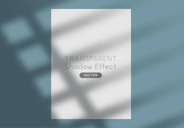 Vector Shadow Silhouette Effekt Hintergrund – Vektorgrafik